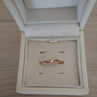 ヨンドシー(4℃)の4℃ リング 7号 ダイヤモンド(リング(指輪))