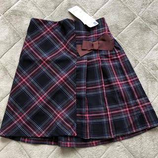 ジーユー(GU)の新品未使用★GUタータンチェックスカート130cm(スカート)
