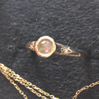 アッシュペーフランス(H.P.FRANCE)のTatsuo Nagahata グレーダイヤ 星留めダイヤ リング(リング(指輪))