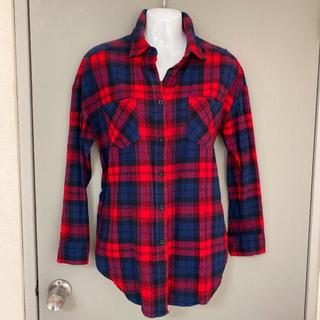 リエンダ(rienda)のrienda リエンダ チェックシャツ ネルシャツ(シャツ/ブラウス(長袖/七分))