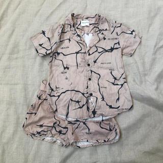 Caramel baby&child  - WOLF&RITA 6y オープンカラーシャツ ショートパンツ