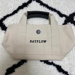 ベイフロー(BAYFLOW)のBAYFLOW トートバッグ(sサイズ)(トートバッグ)