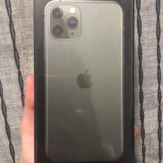 新品・香港版 iPhone 11 Pro 256GB ミッドナイトグリーン(スマートフォン本体)