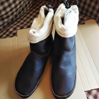 サマンサモスモス(SM2)のSM2サマンサモスモス カタログ掲載 ショートブーツ未使用訳ありブラウンL(ブーツ)
