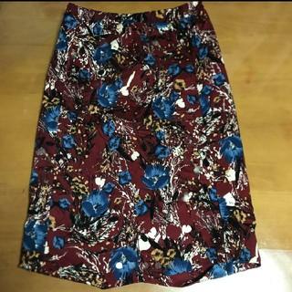 アンティカ(antiqua)のアンティカ antique  膝丈スカート 即購入OK(ひざ丈スカート)