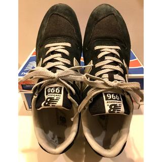 ニューバランス(New Balance)のニューバランス996 27.0cm US9 MRL996 BL 黒 BLACK(スニーカー)