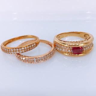 3セットまとめ売り ダイヤモンド リング(リング(指輪))