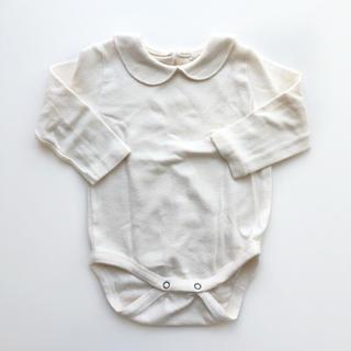 キャラメルベビー&チャイルド(Caramel baby&child )の丸襟ロンパース 6-12m(ロンパース)