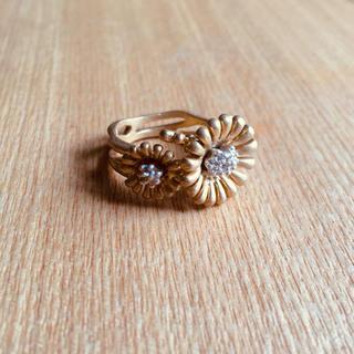 フェリシモ(FELISSIMO)のサニークラウズ 沼尾さんのお花リング(リング(指輪))