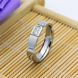 2D リング ステンレスリング ステンレス指輪 ピンキーリング メンズ(リング(指輪))