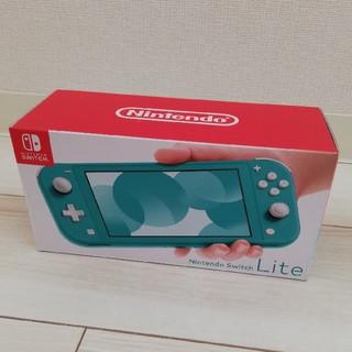 ニンテンドースイッチ(Nintendo Switch)の※近日中に掲載降ろします【新品未開封】Nintendo switch lite(携帯用ゲーム機本体)