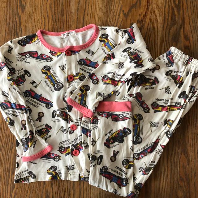 ampersand(アンパサンド)のアンパサンド  パジャマ  クルマ  120センチ キッズ/ベビー/マタニティのキッズ服 男の子用(90cm~)(パジャマ)の商品写真