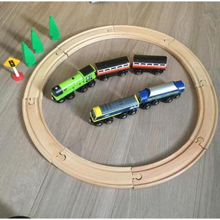 Fisher-Price - ウード 機関車レール