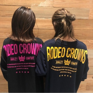 RODEO CROWNS WIDE BOWL - テラ松ロンTブラック