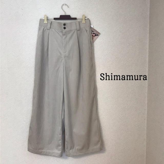 しまむら(シマムラ)のしまむら コーデュロイワイドパンツ 新品 レディースのパンツ(カジュアルパンツ)の商品写真