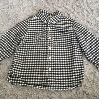 ムジルシリョウヒン(MUJI (無印良品))のちー様専用 チェックシャツ、ロンT(ブラウス)