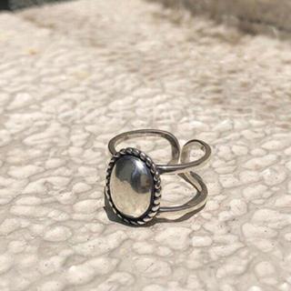 トゥデイフル(TODAYFUL)のシルバー925 カメオリング silver925 リング(リング(指輪))