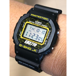 ジーショック(G-SHOCK)のG-SHOCK/コラボ/KIKSTYO/25周年/DW-5600/限定/スピード(腕時計(デジタル))
