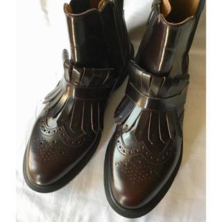 ドクターマーチン(Dr.Martens)のドクターマーチン Dr.martens ★TINA タッセル サイドゴア ブーツ(ブーツ)