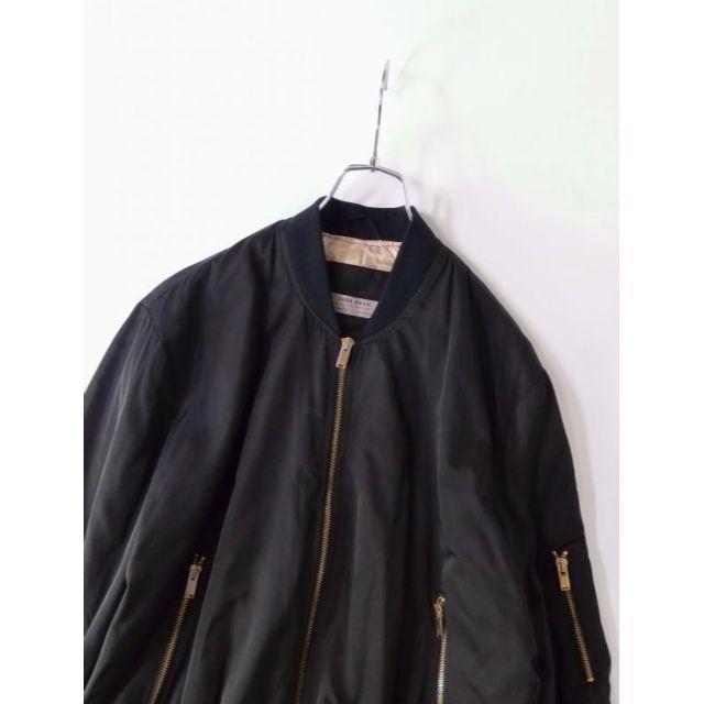 ZARA(ザラ)の美品 ザラ ZARA MA-1ジャケット S レディースのジャケット/アウター(ミリタリージャケット)の商品写真