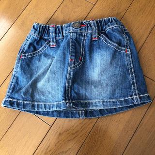 ブリーズ(BREEZE)のBREEZE 90センチ デニムスカート(スカート)