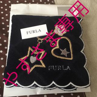 フルラ(Furla)のFURLA  タオル ハンカチ 新品未使用品(ハンカチ)