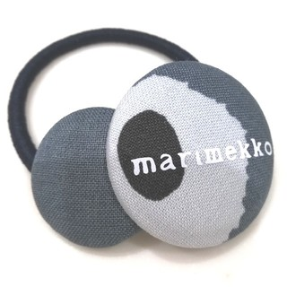 マリメッコ(marimekko)のmarimekko くるみボタンのヘアゴム(ヘアゴム/シュシュ)