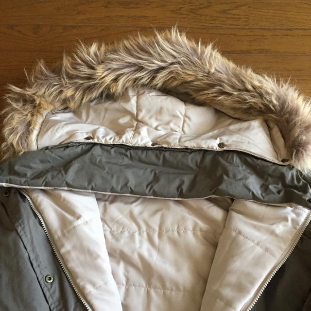 レディース リバーシブルモッズコート 未使用サイズL レディースのジャケット/アウター(モッズコート)の商品写真