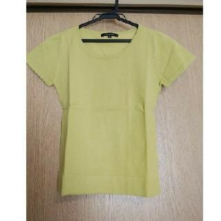 グランドセイコー(Grand Seiko)の上品グリーン♪黄緑 grande soeur トップス(カットソー(半袖/袖なし))