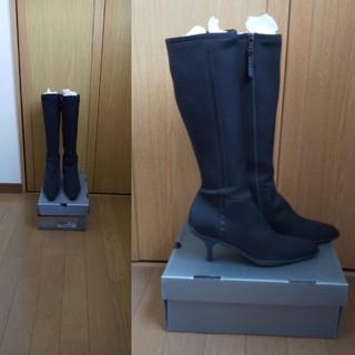 プラダ(PRADA)のプラダ黒ブーツ美品(ブーツ)