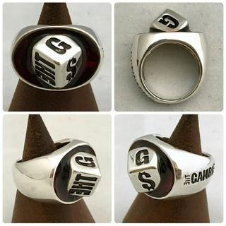 新品!THE GAMBLERSのオーバル シルバーリング(リング(指輪))
