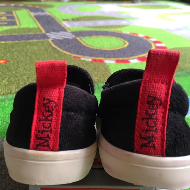ZARA(ザラ)の🌟美品🌟ZARA&Disneyコラボ ミッキーキッズシューズ キッズ/ベビー/マタニティのキッズ靴/シューズ (15cm~)(スニーカー)の商品写真