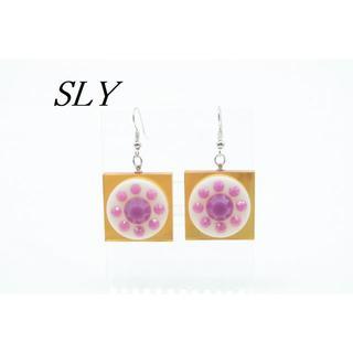スライ(SLY)の【R902】SLY スライ スクエア ピアス(ピアス)