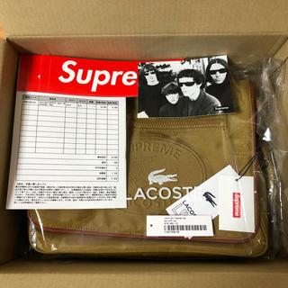 シュプリーム(Supreme)のSupreme LACOSTE Small Messenger Bag Gold(メッセンジャーバッグ)
