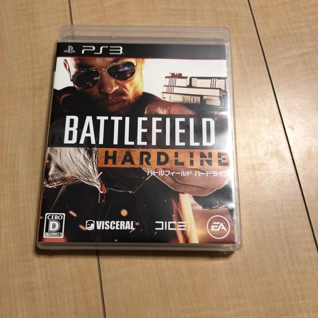バトルフィールド ハードライン PS3版 エンタメ/ホビーのゲームソフト/ゲーム機本体(家庭用ゲームソフト)の商品写真