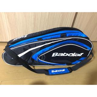 バボラ(Babolat)のバボララケットバッグ4本収納OK 1回使用のみの極美品 送料込みの特価出品(ラケット)