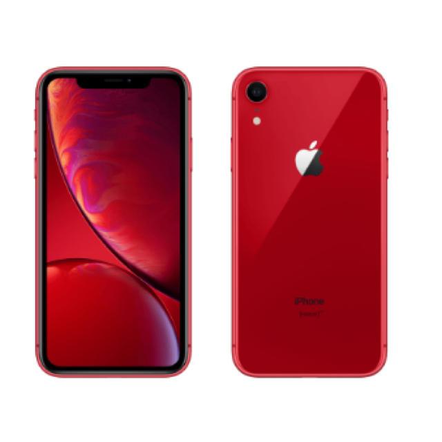 iPhone(アイフォーン)のiPhone XR 本体 64GB simフリー au スマホ/家電/カメラのスマートフォン/携帯電話(スマートフォン本体)の商品写真
