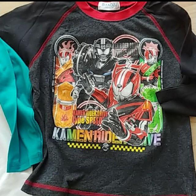 BANDAI(バンダイ)の長袖Tシャツ  110  戦隊モノ キッズ/ベビー/マタニティのキッズ服 男の子用(90cm~)(Tシャツ/カットソー)の商品写真