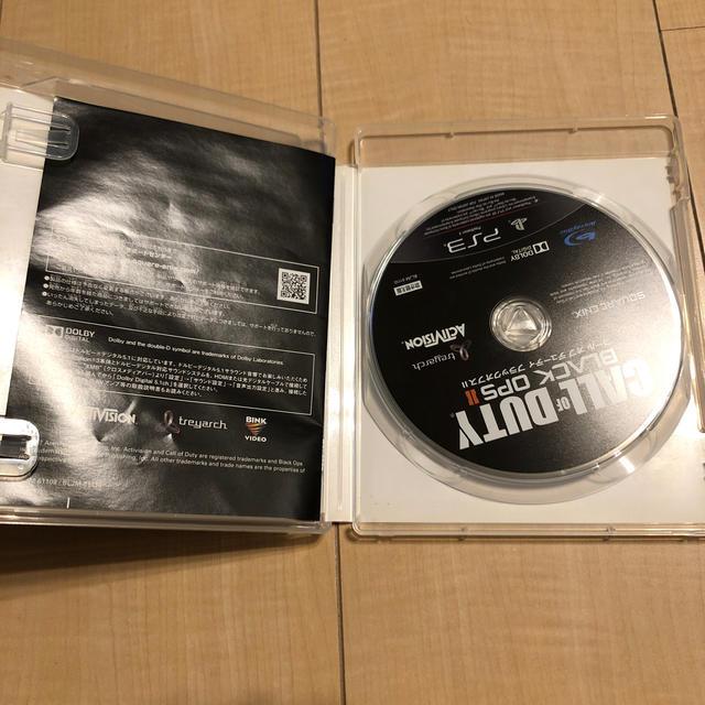 コール オブ デューティ ブラックオプスII [吹き替え版]PS3版 エンタメ/ホビーのゲームソフト/ゲーム機本体(家庭用ゲームソフト)の商品写真