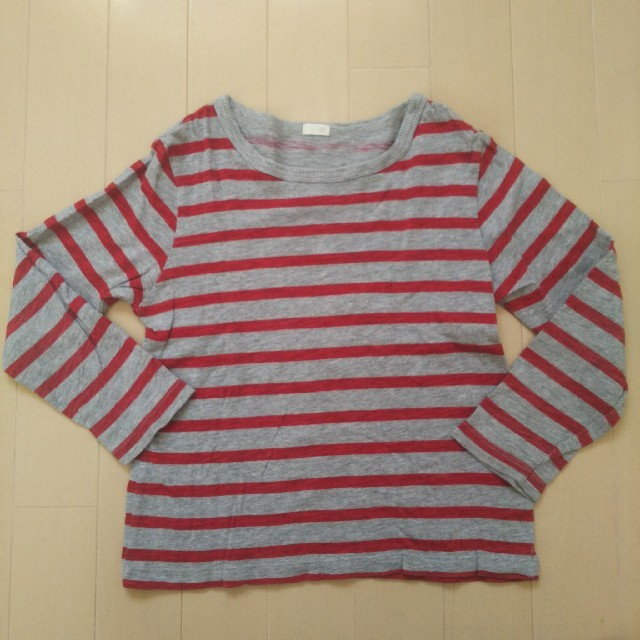 GU(ジーユー)のGU★ロンT キッズ/ベビー/マタニティのキッズ服 男の子用(90cm~)(Tシャツ/カットソー)の商品写真