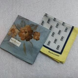 ポロラルフローレン(POLO RALPH LAUREN)のRALPH LAUREN☆ハンカチ2枚セット(ハンカチ)