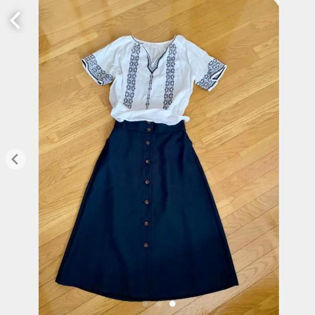 GU(ジーユー)のハイウエストロングスカート #ZARA GAP UNIQLO  レディースのスカート(ロングスカート)の商品写真