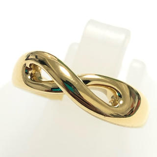 ティファニー(Tiffany & Co.)のK18  750 ティファニー Tiffany&Co. インフィニティリング (リング(指輪))