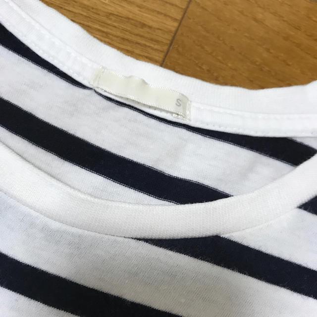 GU(ジーユー)のGU ボーダーTシャツ メンズのトップス(Tシャツ/カットソー(半袖/袖なし))の商品写真