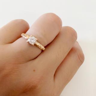 ジュピターゴールドレーベル(jupiter GOLD LABEL)の☆美品☆jupiterのK10リング(リング(指輪))