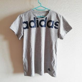 アディダス(adidas)のadidas*°アディダス Tシャツ グレー(Tシャツ/カットソー(半袖/袖なし))