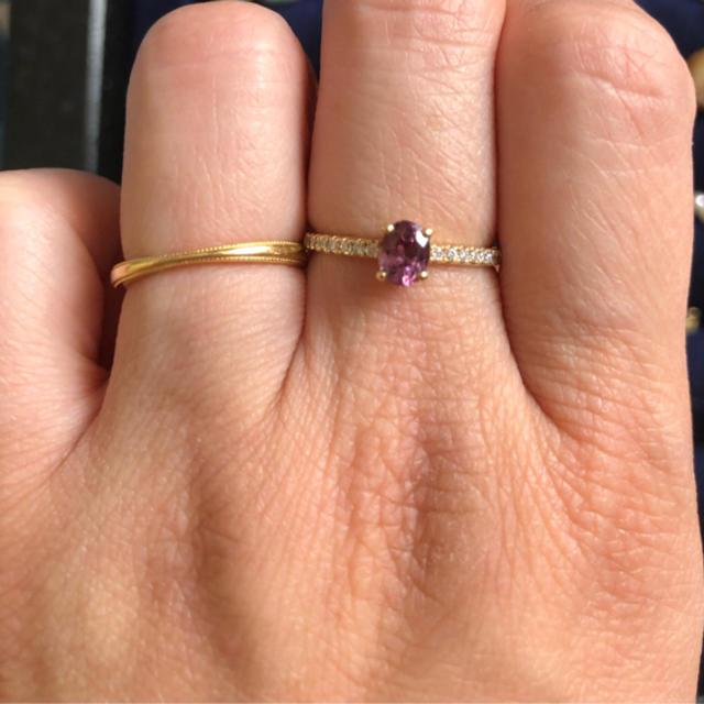 agete(アガット)のクアラントット  スピネルリング   10.5 レディースのアクセサリー(リング(指輪))の商品写真