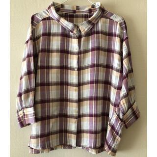 チャオパニックティピー(CIAOPANIC TYPY)の2way オフショルBIGシャツ(シャツ/ブラウス(長袖/七分))