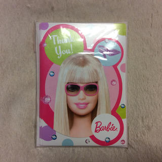 バービー(Barbie)の未使用品!Barbie パーティーカード(ノート/メモ帳/ふせん)