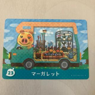 ニンテンドー3DS(ニンテンドー3DS)のとびたせの森amiiboCARD♥️マーガレット(カード)